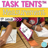 Task Tents™:  Measurement {5th Grade}