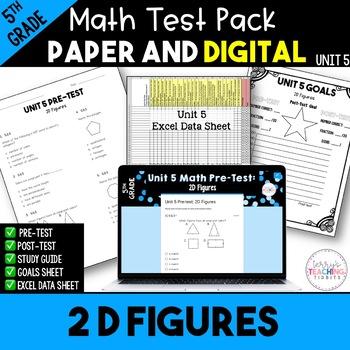 2D Figures Test  *5th*  {Unit 5}