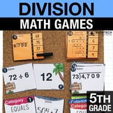 5th - Division Math Centers - Math Games