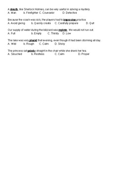 5th ELA Weekly Quiz 2nd Week 7- Correlative Conjunction, Figurative Language,ETC