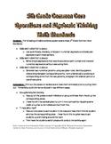 5th (Fifth) Grade Common Core Math -Operations and Algebra