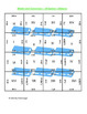 5th (Fifth) Grade Common Core- Winter Standard System Length Unit Puzzle