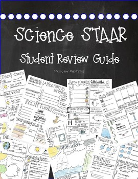 5th GRADE SCIENCE STAAR REVIEW {2018} by Miss Texas | TpT
