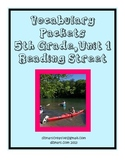 5th Gr. Reading Street Vocabulary Packets - Unit 1 - inter