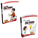 5th Grade + 6th Grade File Folder Math Games Books