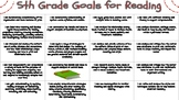 5th Grade Academic Goals for Students