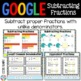 5th Grade Subtract Fractions with Unlike Denominators {5.NF.1} Google Classroom