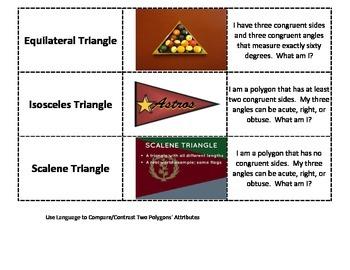 5th Grade Attribute Cards