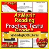 5th Grade AzMerit Test Prep Practice for Arizona - Google Ready