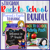 5th Grade Back to School Bundle