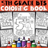 5th Grade Back to School Activities | 5th Grade Back to School Coloring Pages