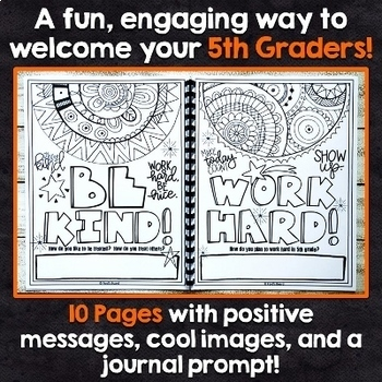 5th Grade Back to School Activities   5th Grade Back to School Coloring Pages