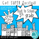 Back to School Writing Activities 5th Grade
