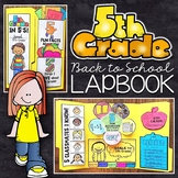 5th Grade Back to School Lapbook