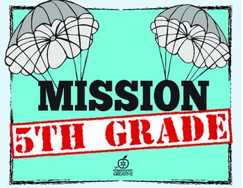 5th Grade Beginning of the Year Writing Activities {Spy Theme & Editable}