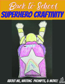5th Grade Beginning of the Year Flipable Craftivity {Superhero Theme}
