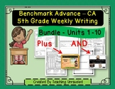 5th Grade Benchmark Writing Resources - Bundle