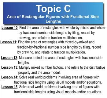 5th Grade CC Math Module 5 Topic C Lessons 10-15