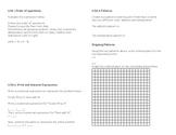 5th Grade CC Math Review Study Guide