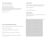 5th Grade CC Math Review Study Guide