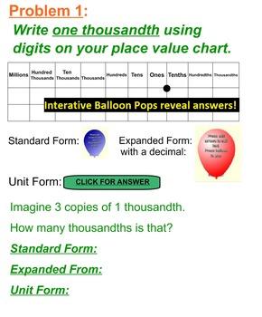 5th Grade CC Module 1 Lessons 1-16