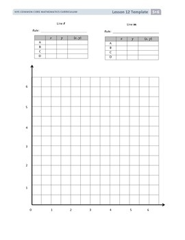 5th Grade CC Module 6 Topic B Lesson 12 Template