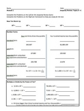5th Grade CC Place Value & Decimal Review