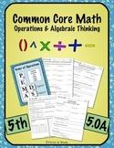 5th Grade CCM Operations & Algebraic Thinking 5.0A