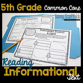 5th Grade Reading Informational Text Common Core