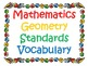 5th Grade CCSS Math Vocabulary Cards Set 2