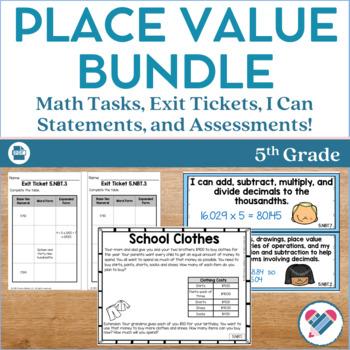 Place Value Bundle 5th Grade