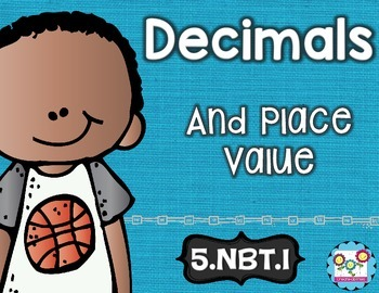 Decimals and Whole Numbers Math Tasks and Exit Tickets