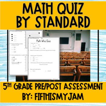 5th Grade CCSS Standards Assessment