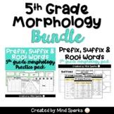 5th Grade CCSS Word Work (Prefixes, Suffixes, Roots) Bundle