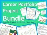 5th Grade Career Portfolio Project Report Bundle