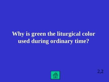 5th Grade Catholic Jeopardy