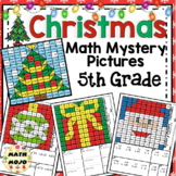 Christmas Activities: 5th Grade Christmas Math Mystery Pictures