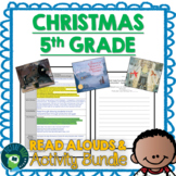 5th Grade Christmas Read Alouds and Activities Bundle