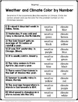 5th Grade Christmas Science Practice--Low Prep