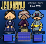 5th Grade Civil War Jeopardy Game
