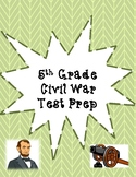 5th Grade Civil War and Reconstruction Test Prep