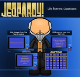 5th Grade Classification Jeopardy Game