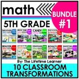 5th Grade Classroom Transformations | Bundle #1