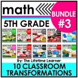 5th Grade Room Transformations | Bundle #3