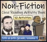 Non-Fiction Collection - 5th & 6th Grade Close Reading Activity Book
