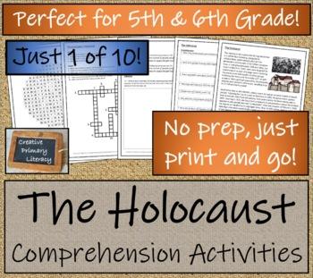 World War II Informational Text Activity Book; 10 Comprehension Activities