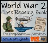 World War II Close Reading Activity Book   10 Activities  