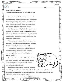 5th Grade Close Reading - NO PREP!