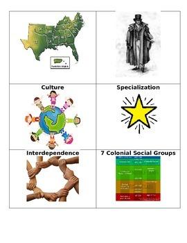 5th Grade Colonial America Vocabulary