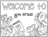 5th Grade Coloring Page